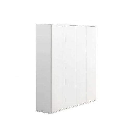 Szafa wysoka biurowa block white marki Plan