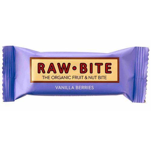 Baton z jagodami i wanilią 50g RAW BITE - BIO (5712840020074)
