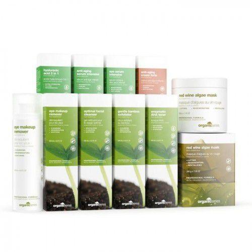 pakiet startowy gold do twarzy + gratis marki Organic series