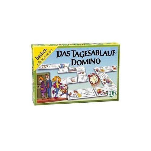 Gra językowa Niemiecki Das Tagesablauf-Domino. Opr. karton