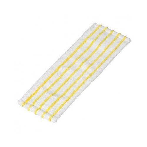 Mop płaski - z mikrowłókna biało-żółty (5 szt.), B2B Partner