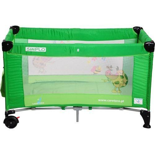 Łóżeczko turystyczne CARETERO Simplo zielony - produkt dostępny w Media Expert