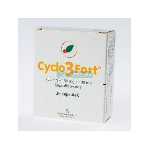 Cyclo 3 Fort 150mg kapsułki twarde 30 sztuk - niweluje opuchnięcie nóg Kurier już od 0 PLN odbiór osobisty: GRATIS! - kapsułki na żylaki