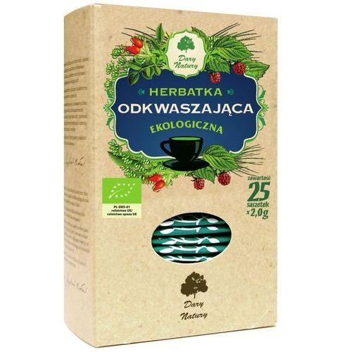 Dary natury herbatka odkwaszająca ekologiczna, 25 sztuk