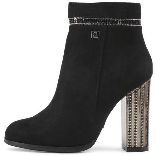 Laura Biagiotti buty za kostkę damskie 38 czarny (8053340369971)