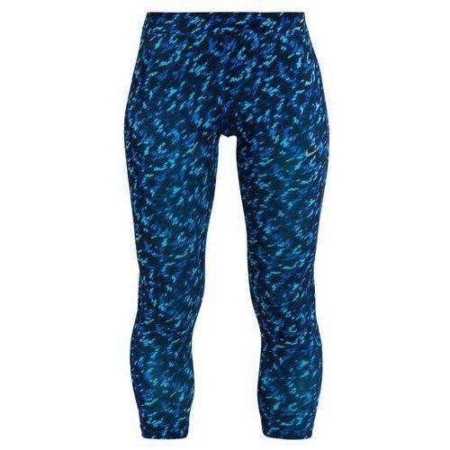 Nike Performance PRONTO ESSENTIAL Legginsy deep royal blue/reflective silver
