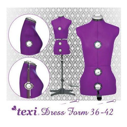 Manekin krawiecki Texi Dress Form regulowany w rozmiarze 36-42 - produkt dostępny w Babas.pl