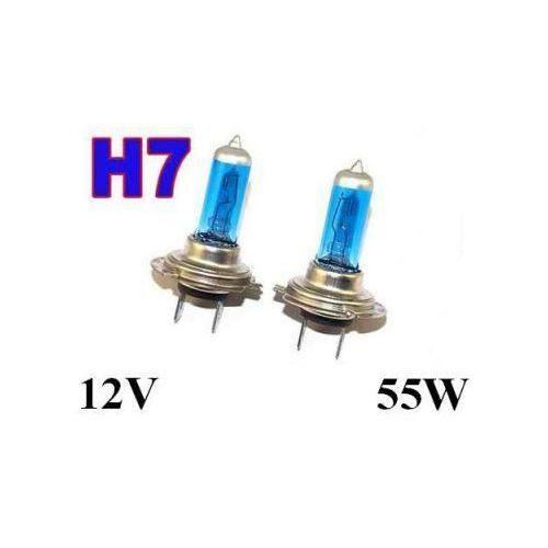 Żarówki (2szt.) samochodowe h7 (12v) xenon h.i.d. super white (moc 55w) - homologowane. marki Lumiko usa