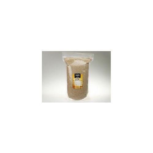 Siemię lnu mielone odtłuszczone (Siemię lniane, len mielony ) 1kg / Swojska Piwniczka (5905669050999)