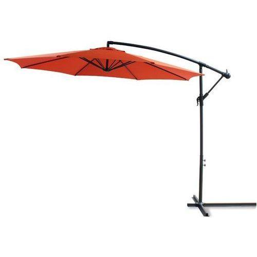 GÜDE Parasol ogrodowy na wysięgniku, terakota, 41068 (parasol ogrodowy) od Avionpark