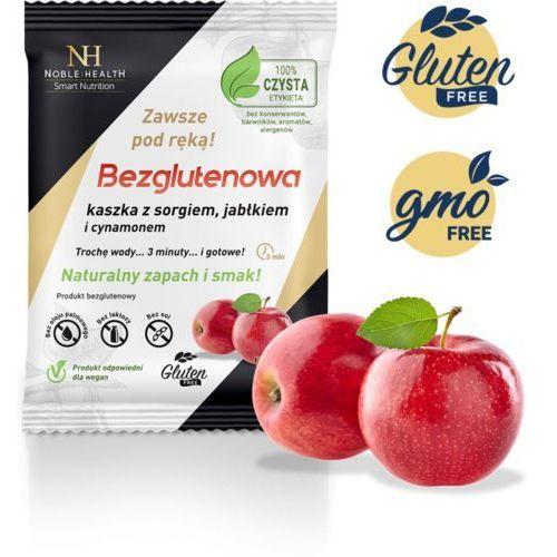 Noble health Kaszka bezglutenowa - sorgo, jabłko i cynamon (5903068650154)