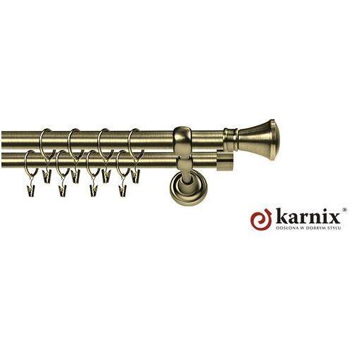 Karnisz Metalowy Rzymski podwójny 25/25mm Liberrty antyk mosiądz - oferta [15916d29b535f545]