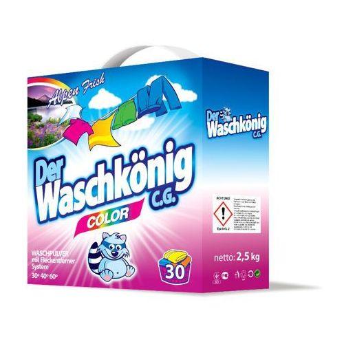 Waschkonig Color Proszek Do Prania 2,5 kg 30 prań - produkt dostępny w Crystaline.pl