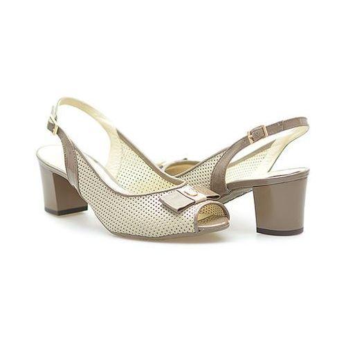 Sandały Arka BI3330/258+268 Beżowe