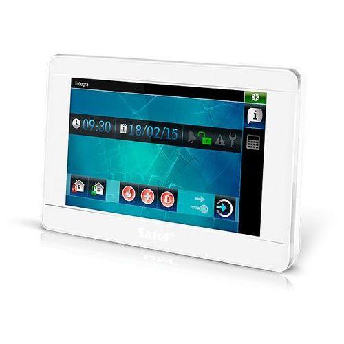 """INT-TSI-WSW Manipulator graficzny z ekranem dotykowym 7"""" Satel(biały)"""