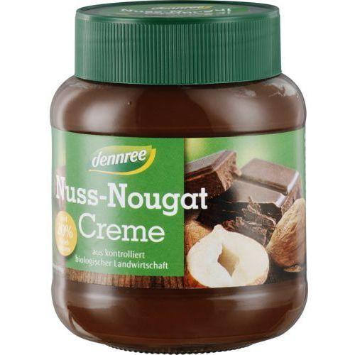 Dennree (dżemy, miody, herbaty) Krem nugatowo - orzechowy bezglutenowy bio 400 g - dennree