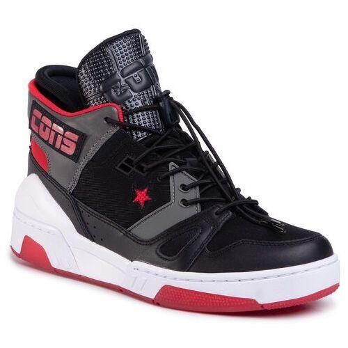 Sneakersy CONVERSE - Erx 260 Mid 165079C Black/Enamel Red/Carbon Grey, w 7 rozmiarach