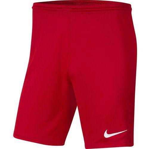 Spodenki dla dzieci dry park iii nb k czerwone bv6865 657 marki Nike