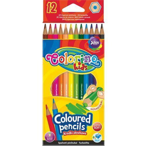 Kredki ołówkowe 12 kolorów Colorino, 5907690814687