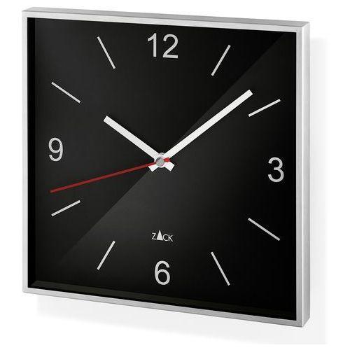 Zegar Zack Sillar 26 cm czarny