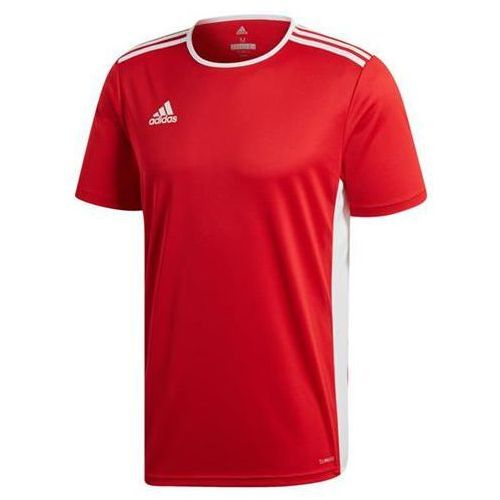 adidas Trefoil T Shirt czerwono biała | DX3609
