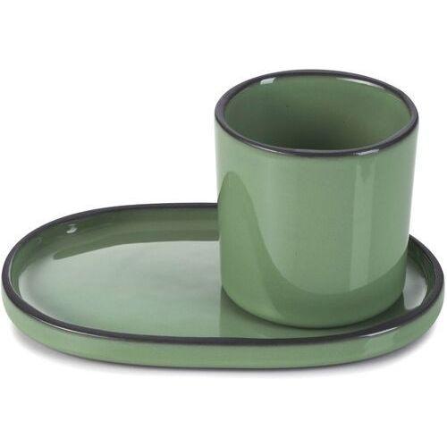 Revol Filiżanka do espresso porcelanowa 80 ml caractere miętowa (rv-652688-4)