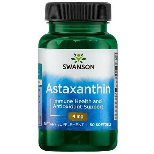 Swanson health products Swanson astaksantyna (astaxanthin) 4 mg 60 kapsułek (0087614027302)