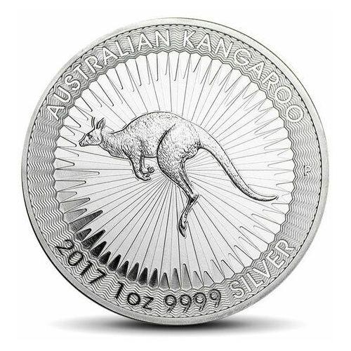Perth mint Australijski kangur 1 uncja srebra - wysyłka 24 h! - 24h