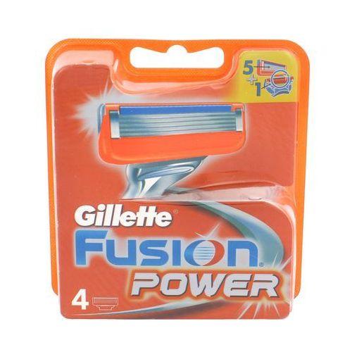 Wkłady do maszynek Gillette Fusion Power (4 sztuki)