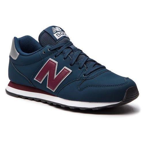 Sneakersy - gm500nab granatowy, New balance, 40-47.5