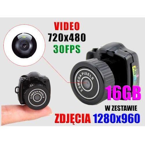 UKRYTY APARAT SZPIEGOWSKI KAMERA AUDIO+VIDEO +16GB - oferta (c582d84d43bfd3f4)
