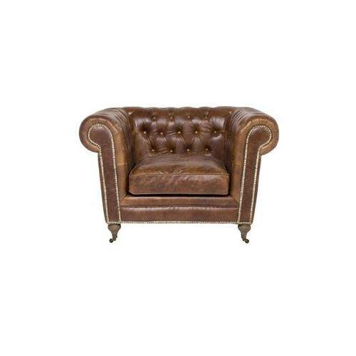 Fashion Rebels Oxford Vintage Deluxe Fotel Skórzany Brązowy (73649), marki Kare Design do zakupu w sfmeble.pl
