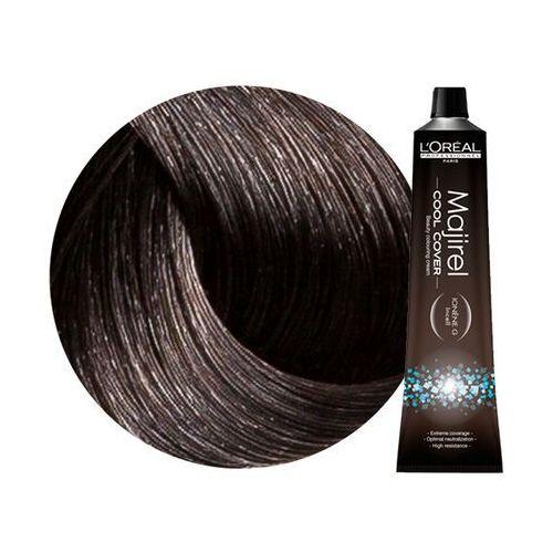 L'oreal Loreal majirel cool cover   trwała farba do włosów o chłodnych odcieniach - kolor 5.1 jasny brąz popielaty 50ml