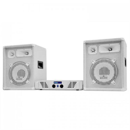 """Zestaw DJ PA """"Arctic Strom"""" z serii White Star, 800W"""