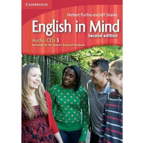 English In Mind 1 Second Edition Zestaw 3 Płyt Audio CD do Podręcznika (9780521188685)