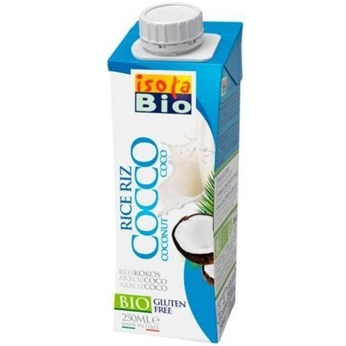 Napój ryżowy kokosowy bezglutenowy BIO 250 ml Isola Bio
