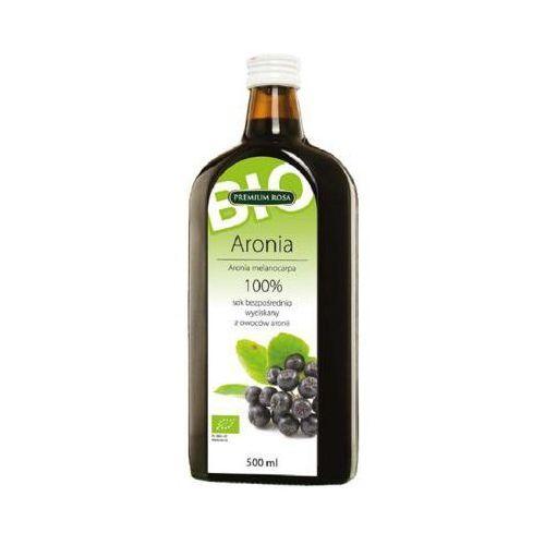 500ml sok 100% aronia bezpośrednio wyciskany bio marki Premium rosa