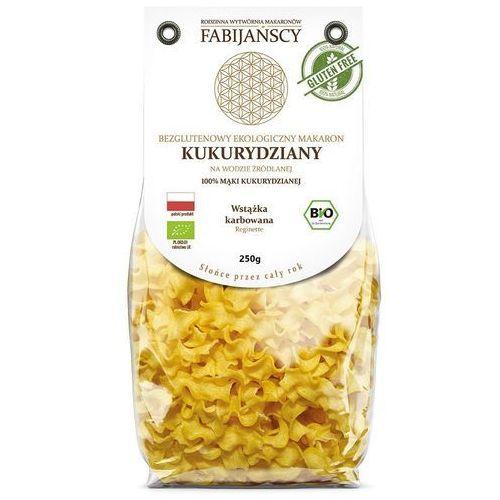 Fabijańscy (makarony) Makaron (kukurydziany) wstążka karbowana reginette bezglutenowy bio 250 g - fabijańscy