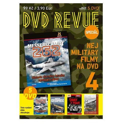 DVD Revue speciál 4 - Nej military filmy na DVD - 5 DVD neuveden