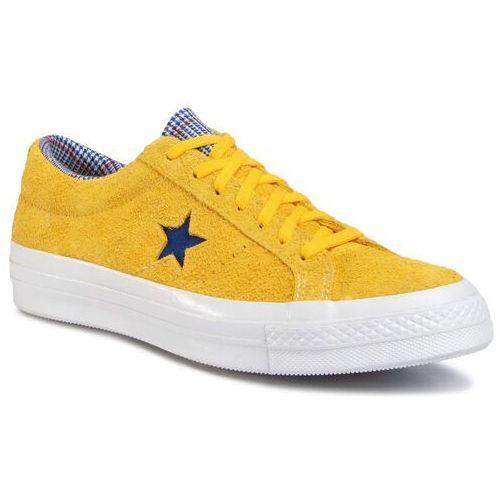 Tenisówki - one star ox 166848c amarillo/rush blue/university marki Converse