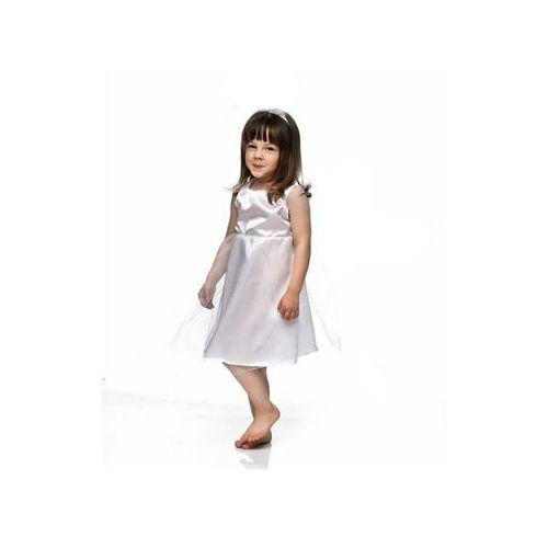a28014551bd Party deco Sukienka mały aniołek - xs - 98/104 cm 38,99 zł Sukienka  minimalny Aniołek z tiulem. Strój, kostium nadzwyczajny na Jasełka.