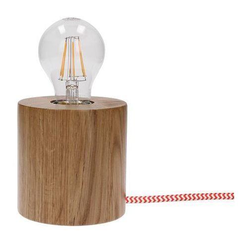 Lampa stołowa SPOTLIGHT Trongo 7071570 Dąb-Czerwono-Biały + DARMOWY TRANSPORT! (5901602338544)