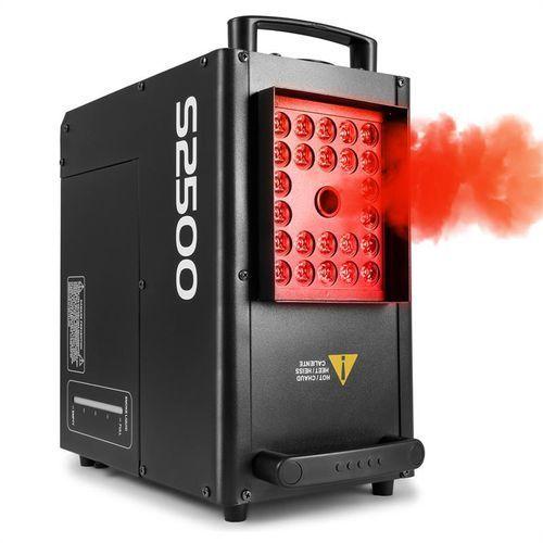 beamZ S2500 Wytwornica mgły 2500 W 24 diod LED 4w1 10 W DMX zbiornik 3,5 l, 160.503