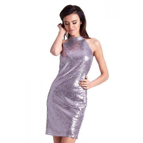 cbd05673 Mini sukienka cekinowa - sprawdź!