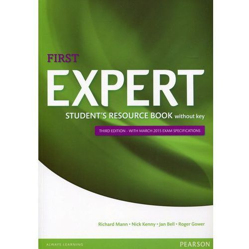 First Expert 3ed Student's Resource Book without key, Nick Kenny