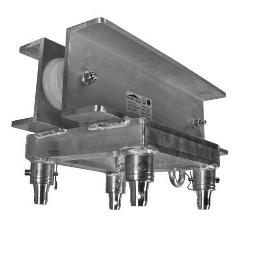 Duratruss dt top t1 element konstrukcji aluminiowej - nadstawka do słupa