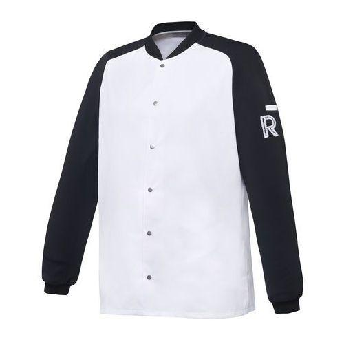 Kitel, długi rękaw, rozmiar xs, biało-czarny | , vintage marki Robur
