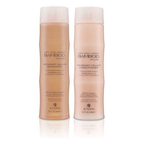 bamboo volume | zestaw nadający objętość: szampon 250ml; odżywka 250ml marki Alterna