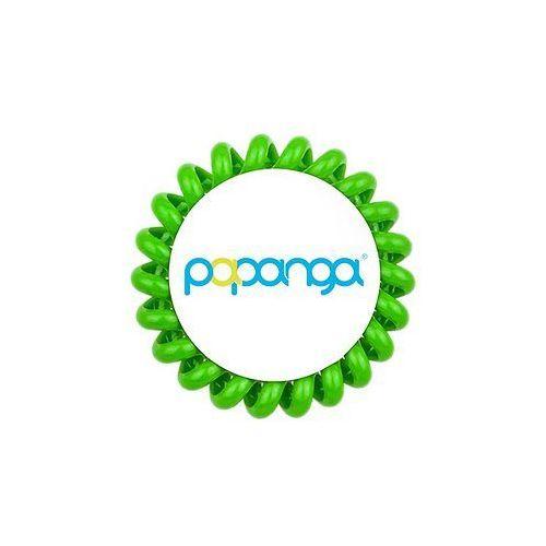 elastyczna gumka do włosów (duża): jasna zieleń marki Papanga