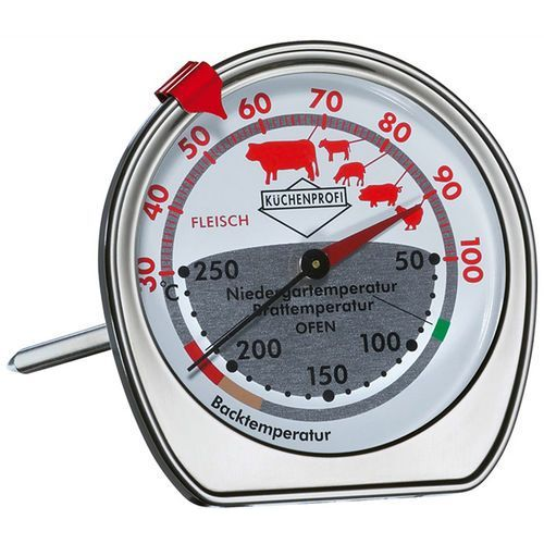 Podwójny termometr do pieczeni i piekarnika Kuchenprofi - oferta [054a247817f175f4]